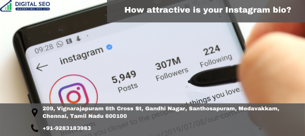 How attractive is your Instagram bio?